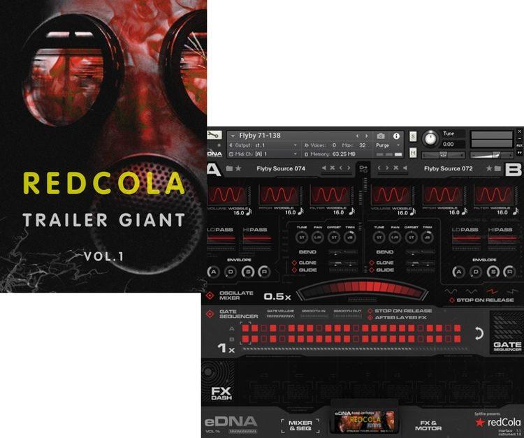 redCola Trailer Giant - Vol  1