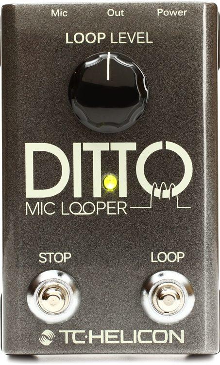 TC Helicon 996365005/Ditto Looper Mic