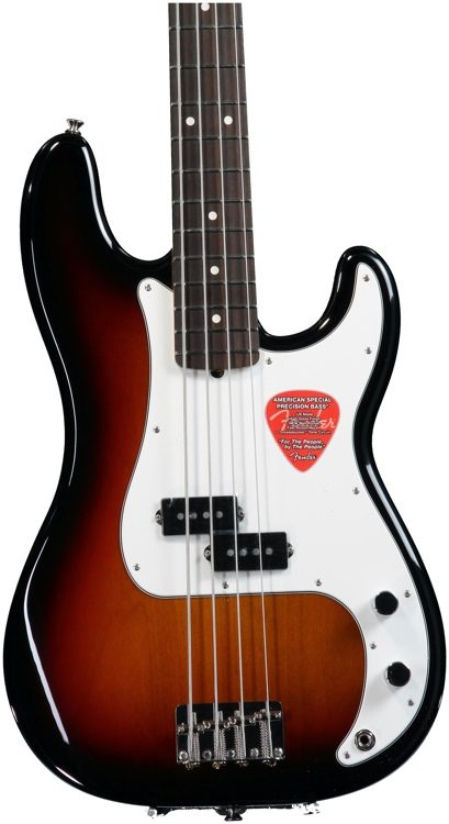 Fender American Special Precision Bass 3 Tone Sunburst Sweetwater