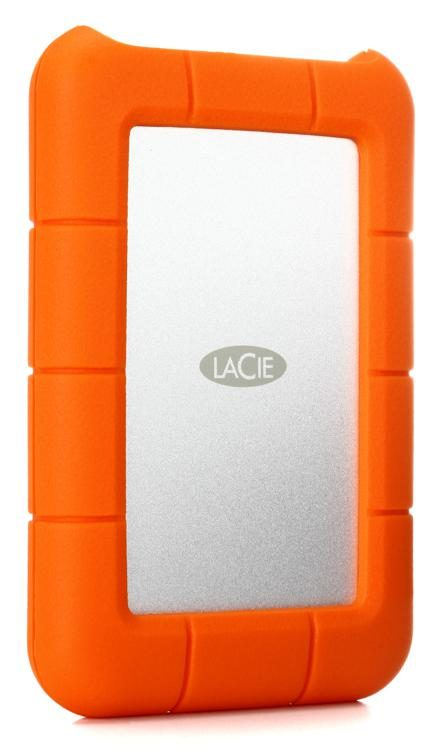 7ec2aaf99e62 LaCie Rugged USB-C - 1TB Portable Hard Drive | Sweetwater