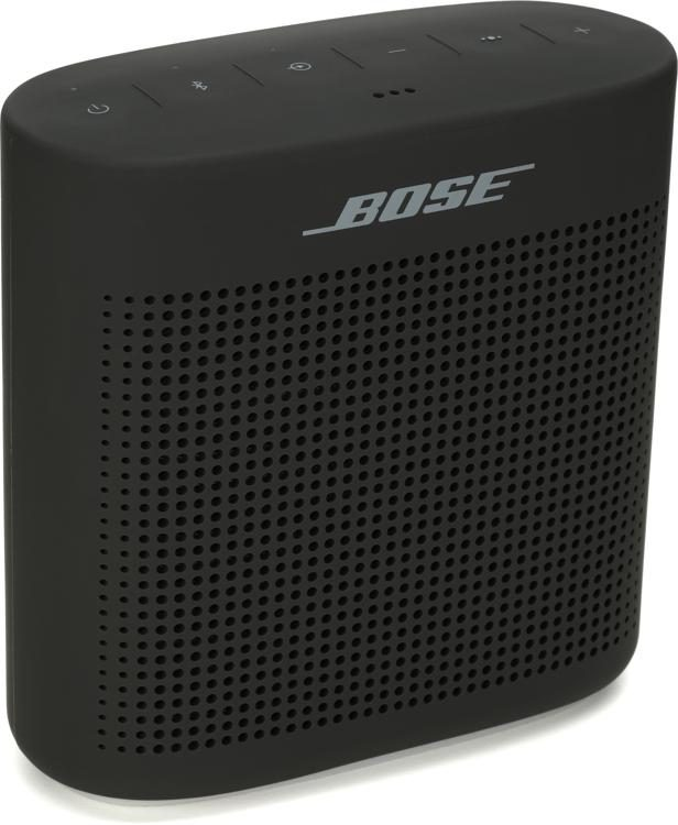 Bose Soundlink Color Bluetooth Speaker Ii Soft Black Sweetwater