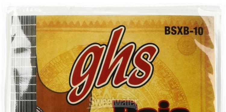 GHS Strings GHS PHOSPHOR BRONZE BAJO QUINTO Strings BSXB-10 Loop End