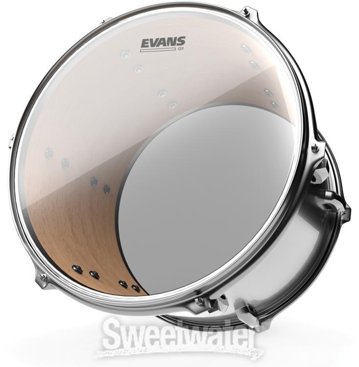 "Evans TT13G1 13/"" Genera G1 Clear Drumhead"