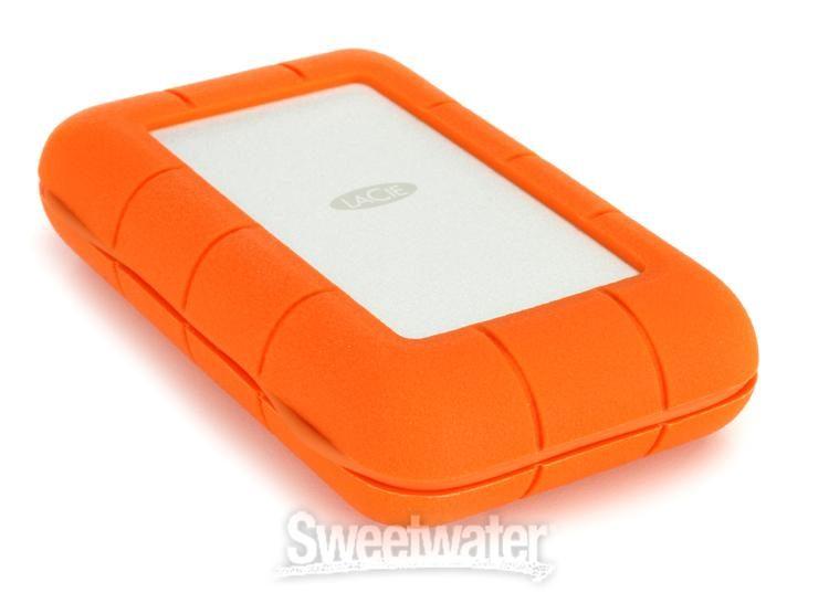Lacie Rugged Thunderbolt Usb C 5tb Portable Hard Drive