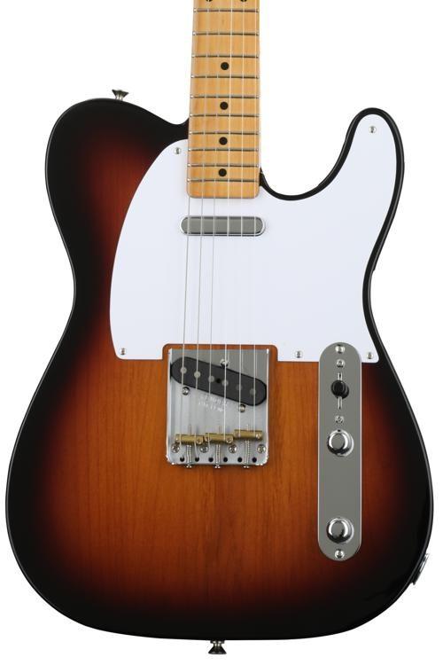 Fender Classic Series 50s Telecaster Electric Guitar 2 Tone ...