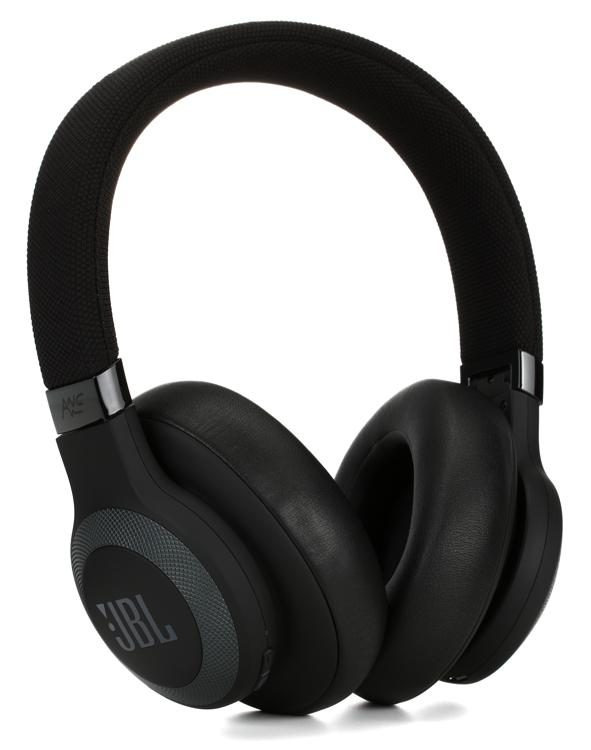 0e9b88ddc8c JBL Lifestyle E65BTNC Over-Ear Bluetooth Noise-canceling Headphones - Black  image 1
