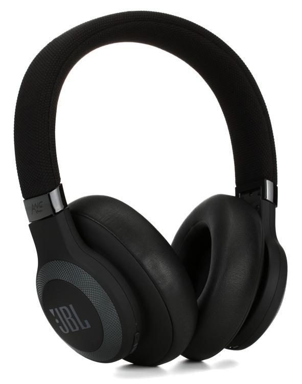 e9116f65899 JBL Lifestyle E65BTNC Over-Ear Bluetooth Noise-canceling Headphones - Black  image 1