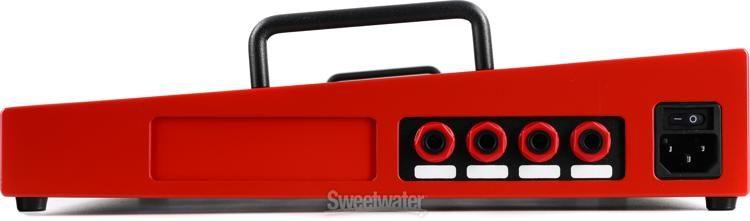Temple Audio Design TRIO 21 Temple Red Guitar Effect Pedal Stompbox Pedalboard