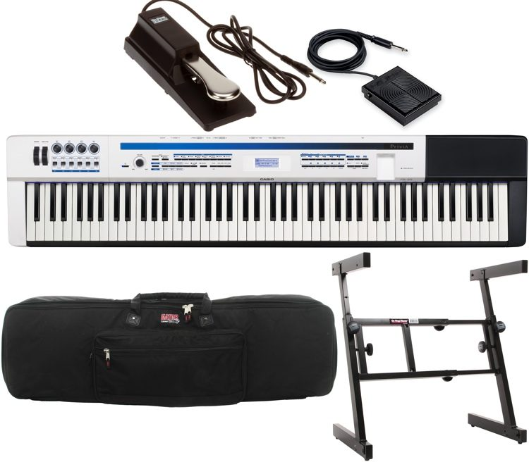 Privia PX-5S Stage Performance Bundle