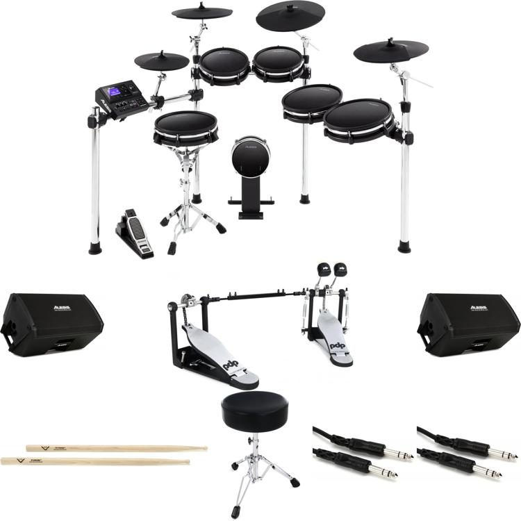 DM10 MKII Pro Expanded Bundle - Electronic Drum Set