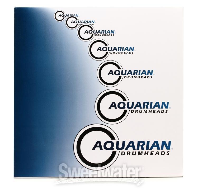 """Aquarian 13/"""" Classic Clear Drum Head CC13"""