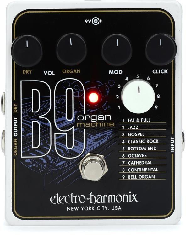 B9 Organ Machine Pedal
