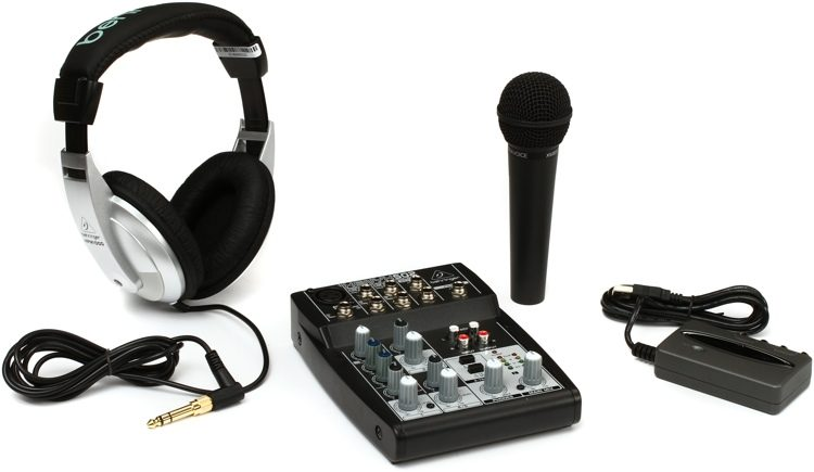 behringer podcastudio