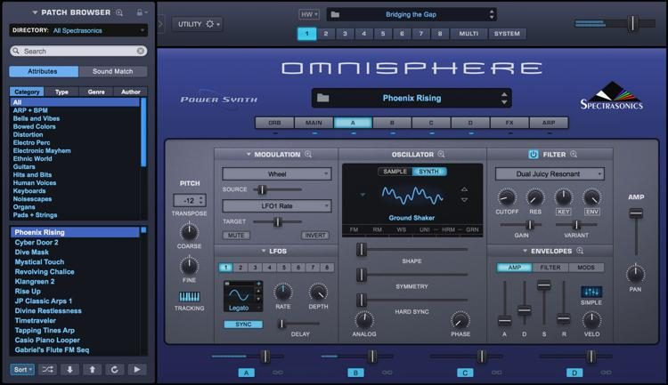 Upgrade to Omnisphere 2 6 for Registered Users of Omnisphere 1 x (Boxed)