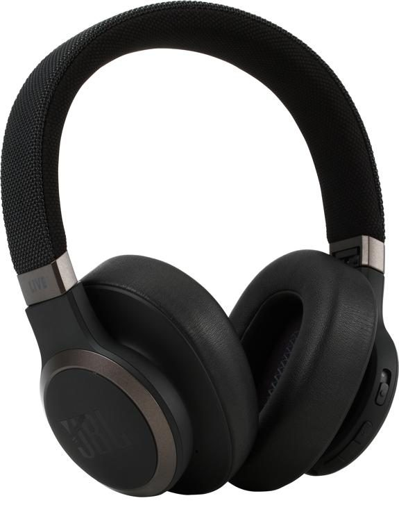 Jbl Lifestyle Live 650btnc Over Ear Bluetooth Noise Canceling Headphones Black Sweetwater