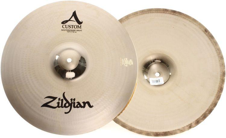 66c57f59b9b1 Zildjian A Custom Mastersound Hi-hat Cymbals - 15