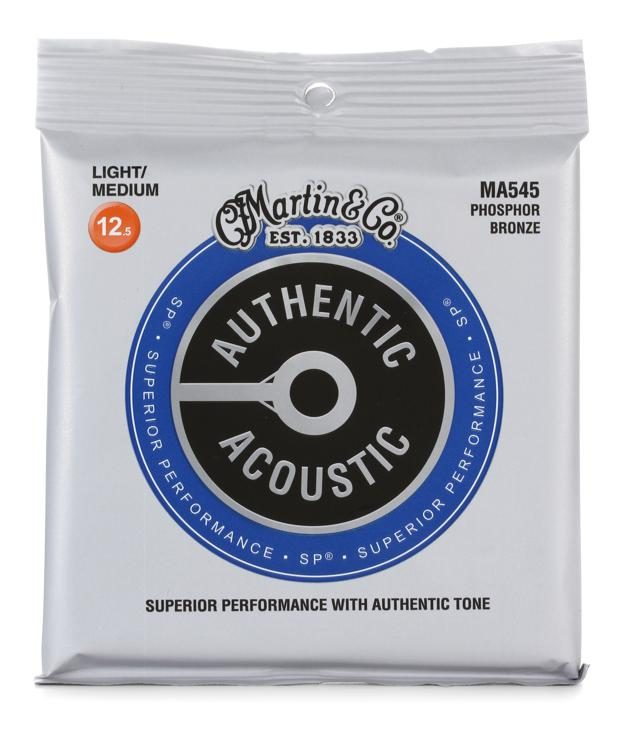 0125-055 Martin Phosphor Bronze MA545 Superior Performance light//medium