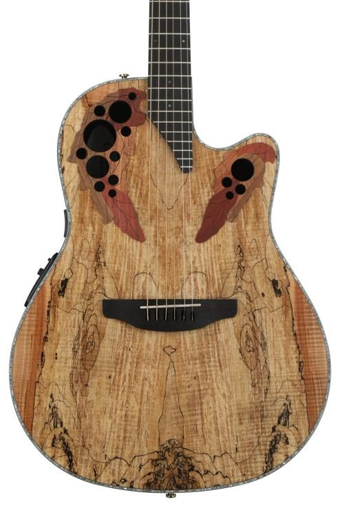 ovation elite plus celebrity spalted maple sweetwater