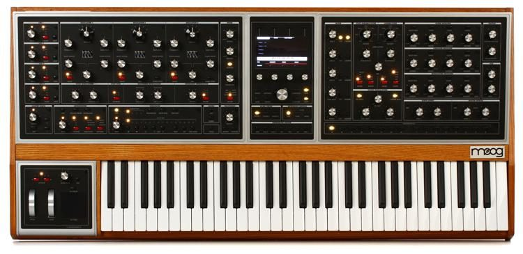 Moog One 16 Voice Analog Synthesizer Sweetwater