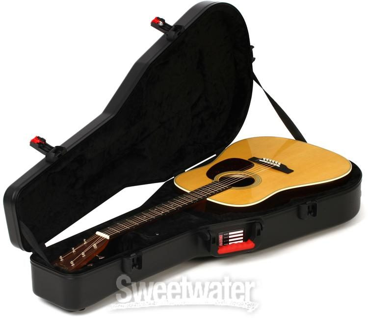 54baf61a124 Gator ATA Molded Guitar Case - w/TSA latches for Acoustic Guitars image 2