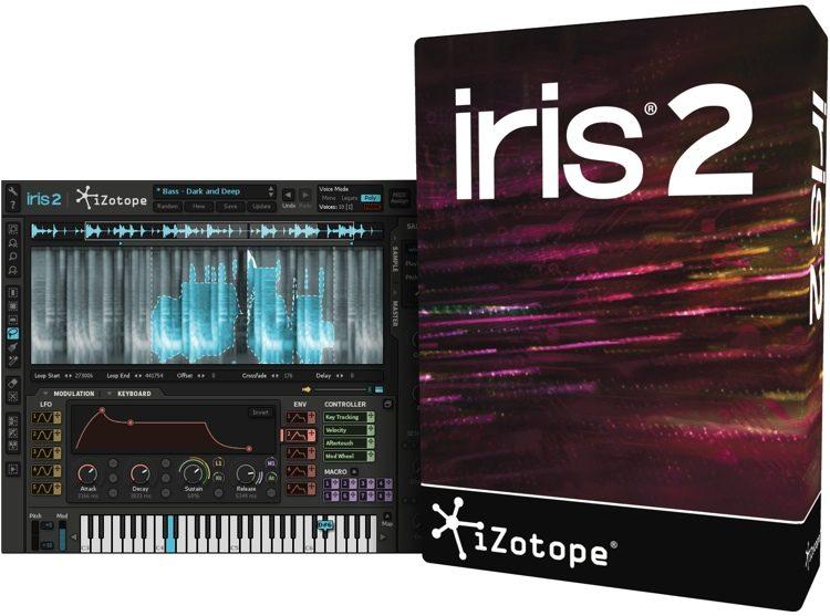 Synthesizer iZotope Iris 2