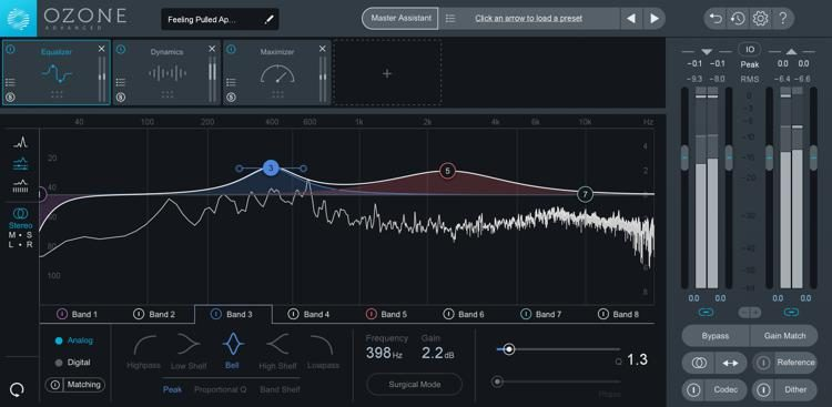 Ozone 8 Advanced Mastering Suite