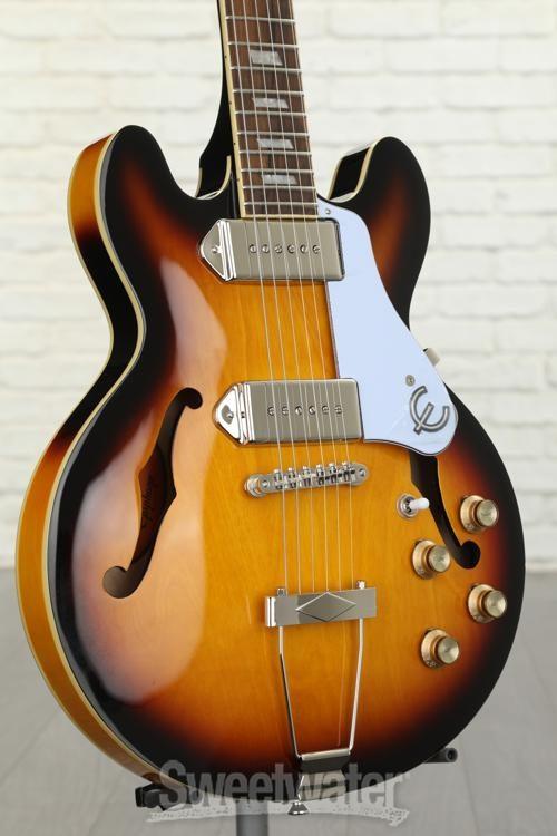 left handed casino guitar