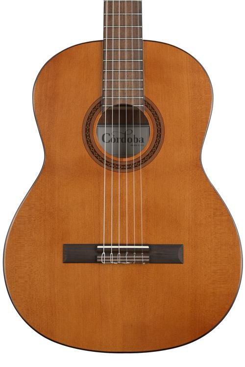 Cordoba C5 Acoustic Nylon String Classical Guitar With Cordoba Deluxe Gig Bag and Accessory Pack
