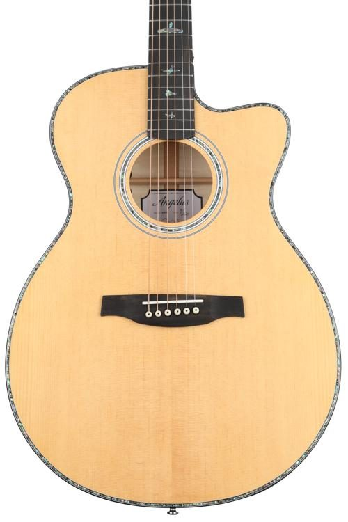Prs Se Angelus A50e Acoustic Electric Black Gold Sweetwater