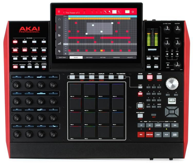 24c515b5 Akai Professional MPC X Standalone Sampler and Sequencer | Sweetwater