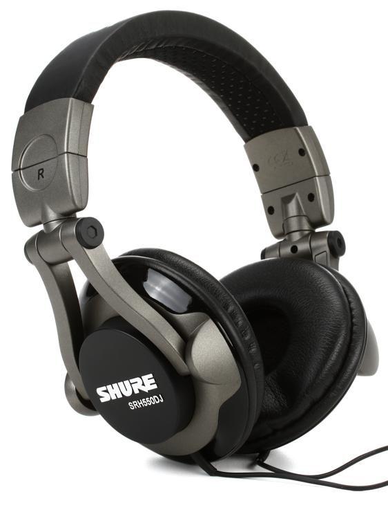 Shure SRH550DJ Closed-back Pro DJ Headphones  8056c42c8d70