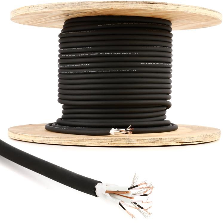 SN4-IJIS 4-channel Install Snake Wire (priced per foot)
