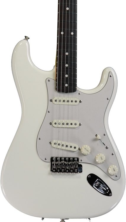 fender john mayer signature stratocaster olympic white sweetwater