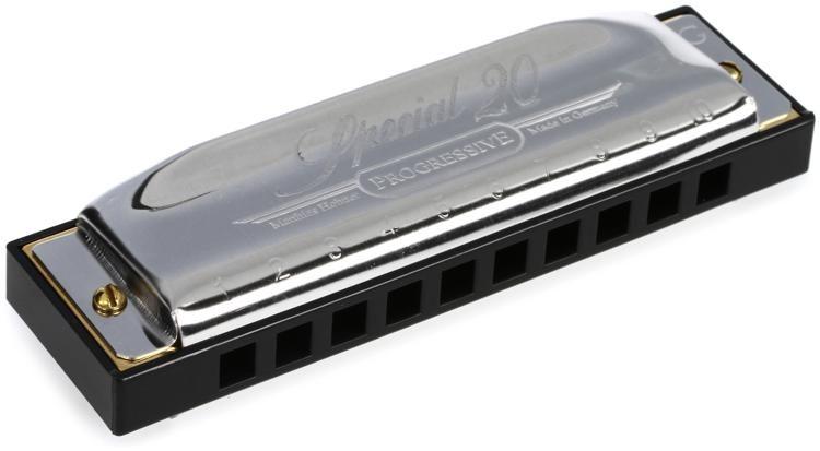 Hohner Special 20 Progressive Series Harmonica in D