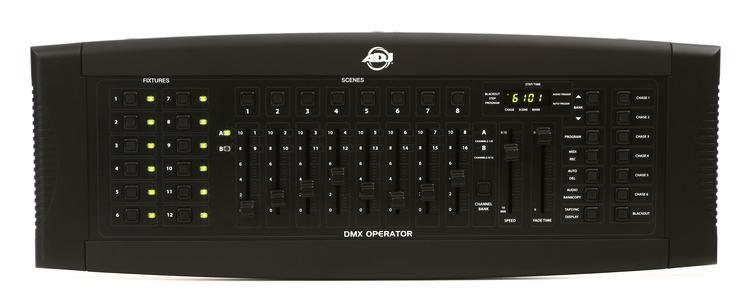 adj dmx operator 192 ch dmx lighting controller image 1