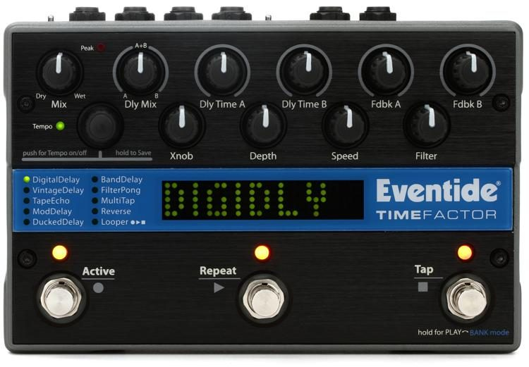 eventide timefactor delay effect pedal sweetwater rh sweetwater com Eventide TimeFactor Tutorial Eventide TimeFactor Review