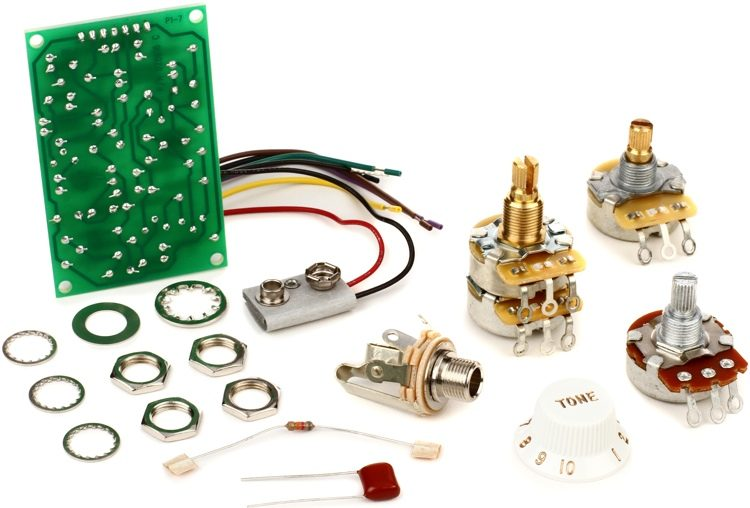 Stratocaster Mid Boost Kit on
