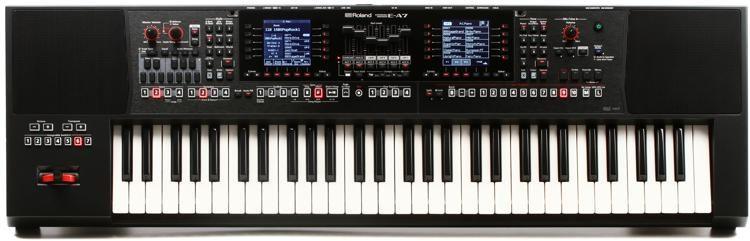 E-A7 61-key Arranger Keyboard