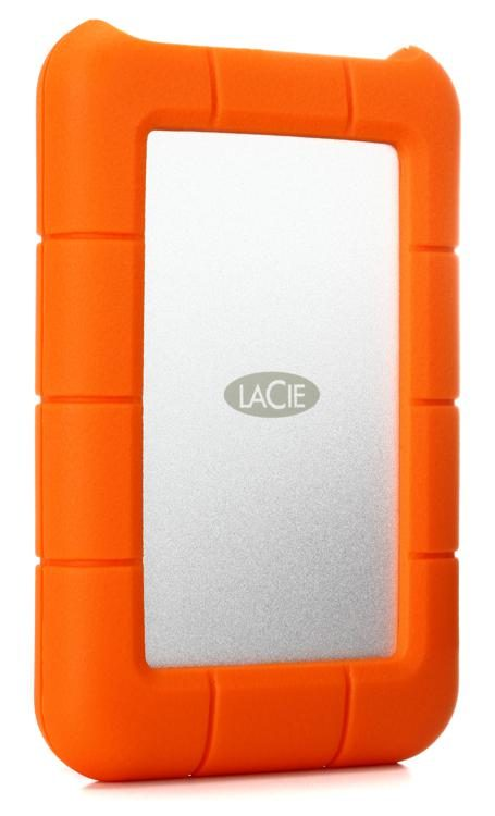 Lacie Rugged Usb C 5tb Portable Hard Drive Image 1