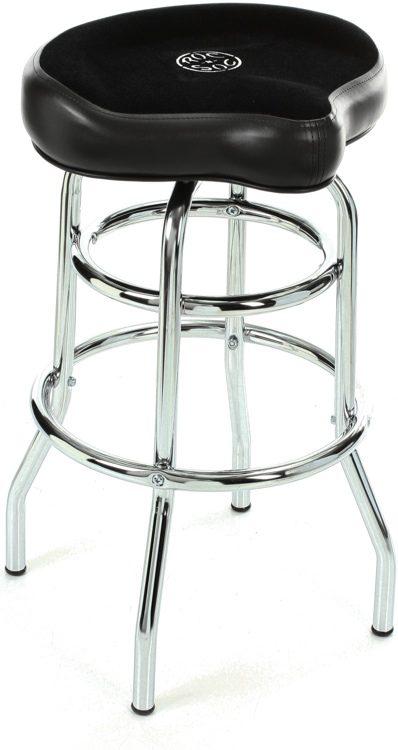 Roc N Soc Tower Saddle Stool Seat   Black Image 1