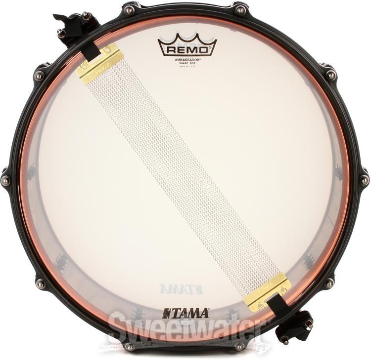 """TAMA Ronald Bruner JR Signature Snare Drum 14/"""" x 5,5/"""" RB1455 in Stock"""