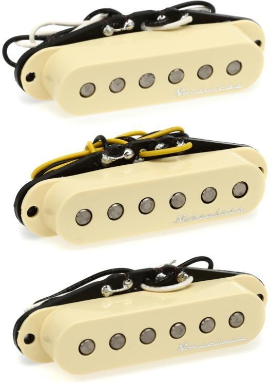 Fender Vintage Noiseless Strat Pickups Accessories >> Hot Noiseless Strat Pickup Set