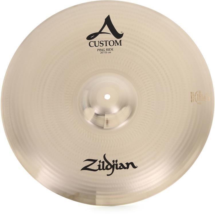 6bfef8c68751 Zildjian A Custom Ping Ride Cymbal - 20