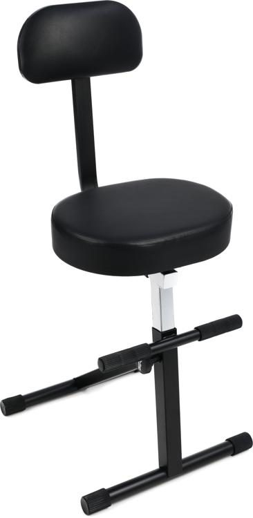 on stage stands dt8500 throne with backrest sweetwater