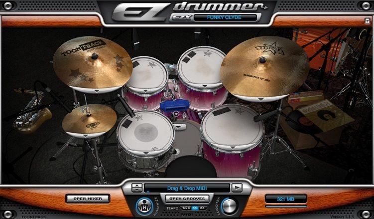 EZDrummer Funk Masters Pack