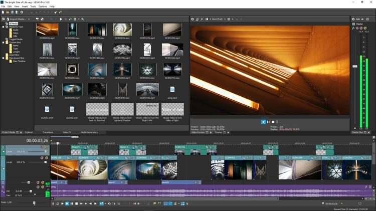 Image result for MAGIX Vegas Pro 16 Build 307