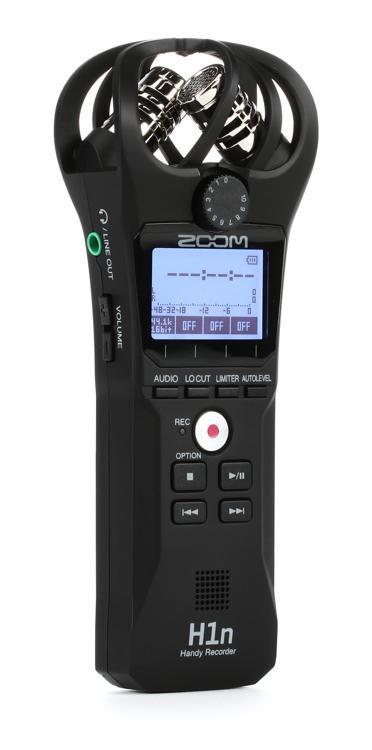 Zoom H1n Handy Recorder Sweetwater