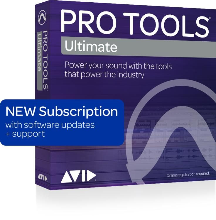 Pro Tools | Ultimate with 1-Year of Updates + Support Plan 1-Year  Subscription (download)