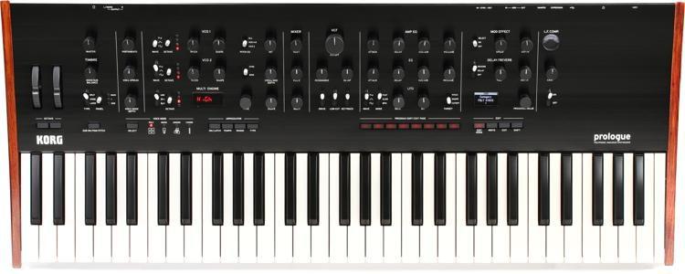4612aeb481f Korg Prologue 61-key 16-voice Analog Synthesizer | Sweetwater