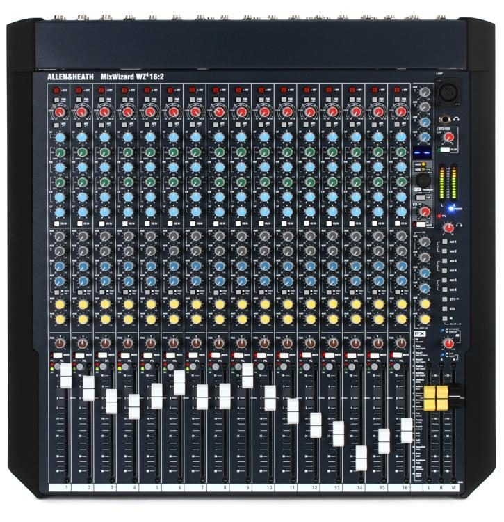 Allen Heath Mixwizard Wz4 16 2 Mixer With Effects Sweetwater